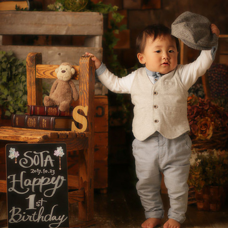 バースデーフォト・誕生日写真