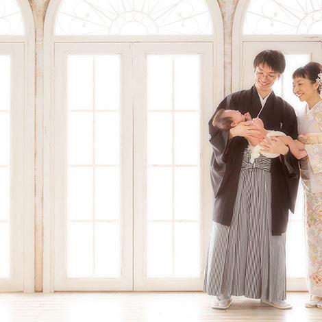 お宮参り・百日祝い写真